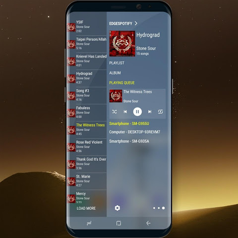 Edge Panel for Spotify Music 1.3 Screen 2