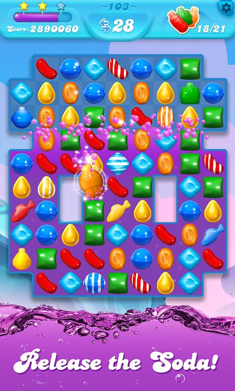 Android Candy Crush Soda Saga Screen 4