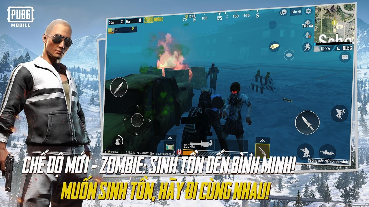 PUBG MOBILE VN 0.11.0 Screen 1