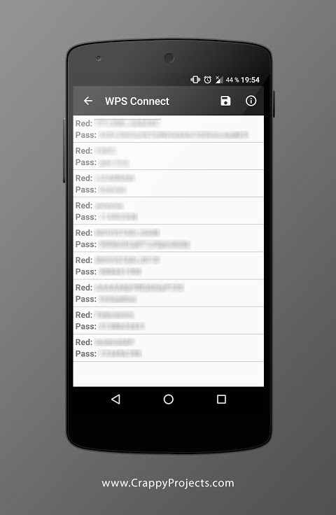 WPS Connect 1.3.6 Screen 2