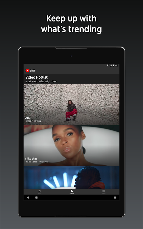 YouTube Music - Stream Songs & Music Videos 3.37.55 Screen 4