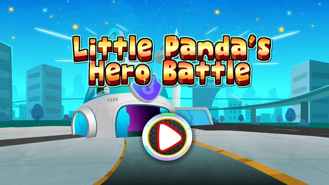 Android Little Panda's Hero Battle Game Screen 5