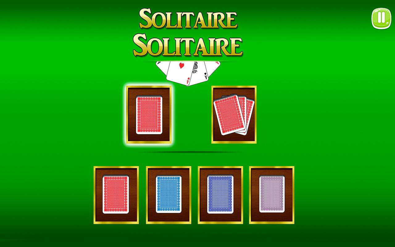 Android Solitaire Solitaire Screen 2