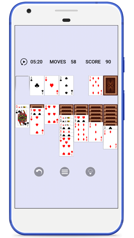 Solitaire 1.0.1 Screen 1