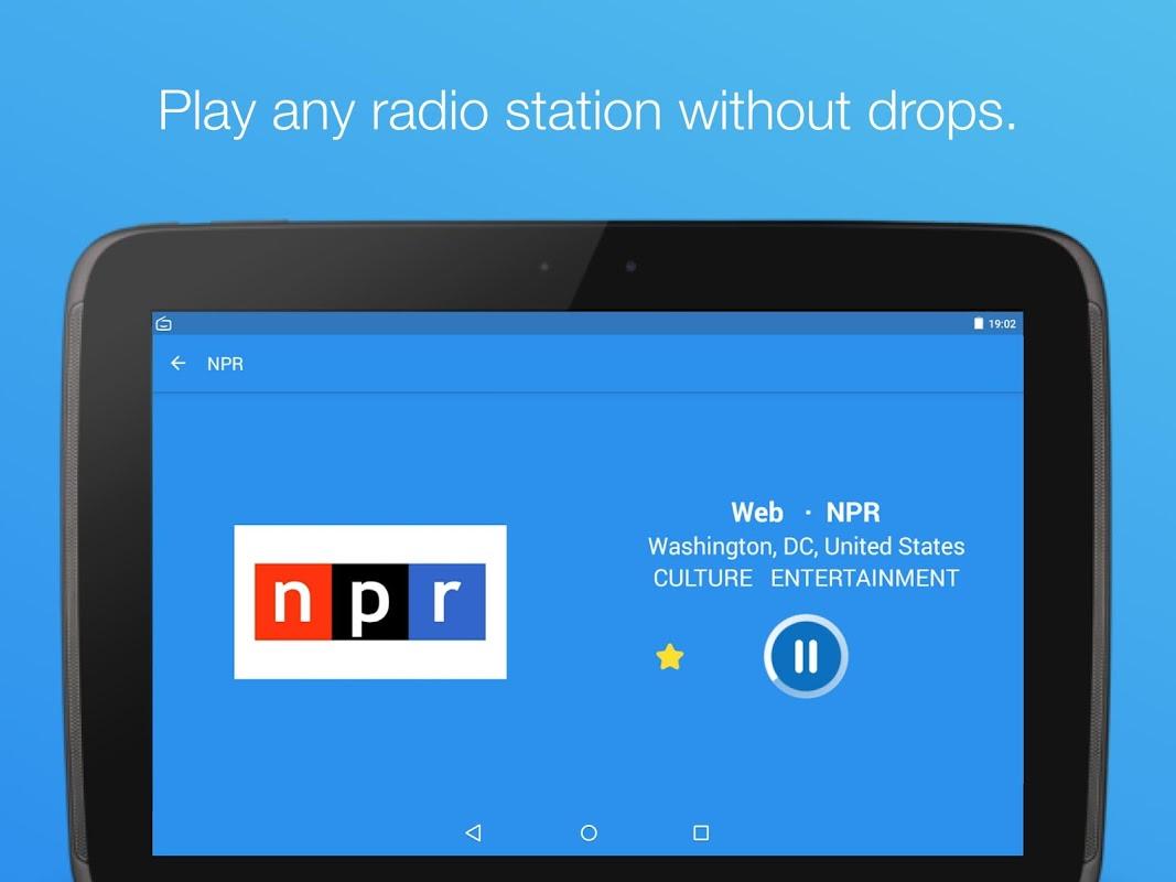 Simple Radio - Free Live FM AM Radio & Music 2.6.2 Screen 6
