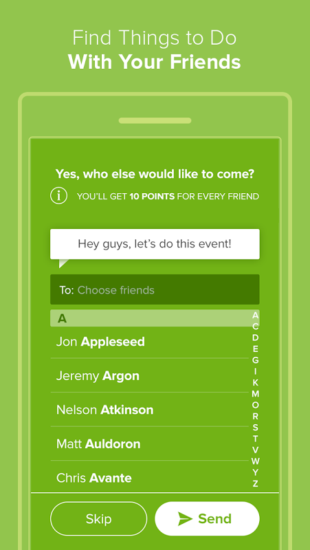 Android Circle - Events, Concerts More Screen 2