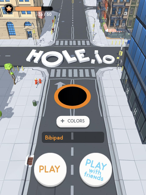 Android Hole.io Screen 9