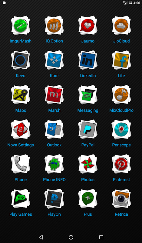 Android Stacks Icon Pack v4.2 Screen 18