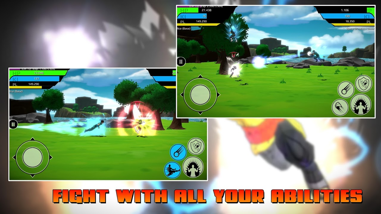 The Final Power Level Warrior (RPG) 1.2.7p2 Screen 1