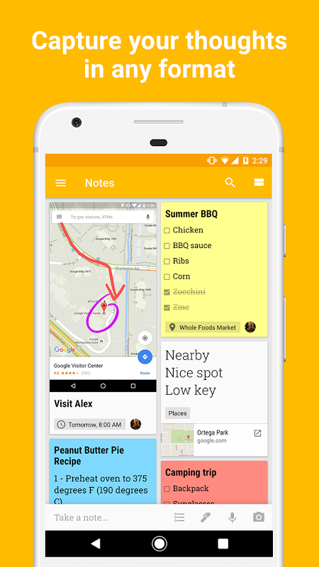 Google Keep - notes and lists 4.1.051.04.70 Screen 4