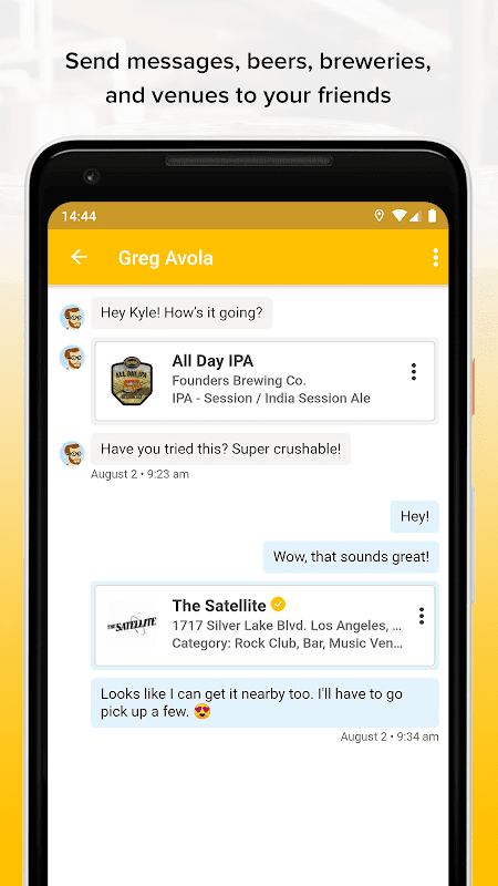 Untappd - Discover Beer 3.3.7 Screen 1