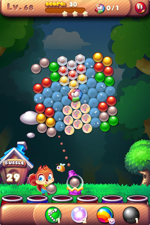 Android Bubble Bird Rescue 2 - Shoot! Screen 1