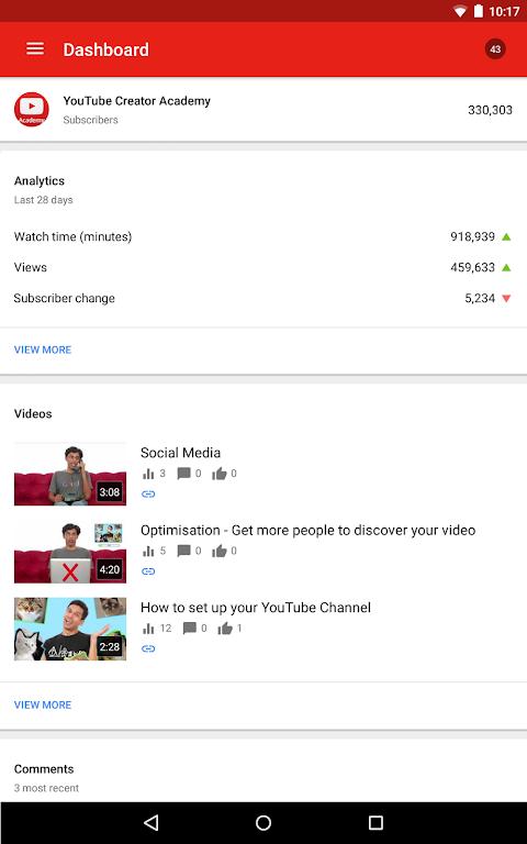 YouTube Studio 18.48.100 Screen 9