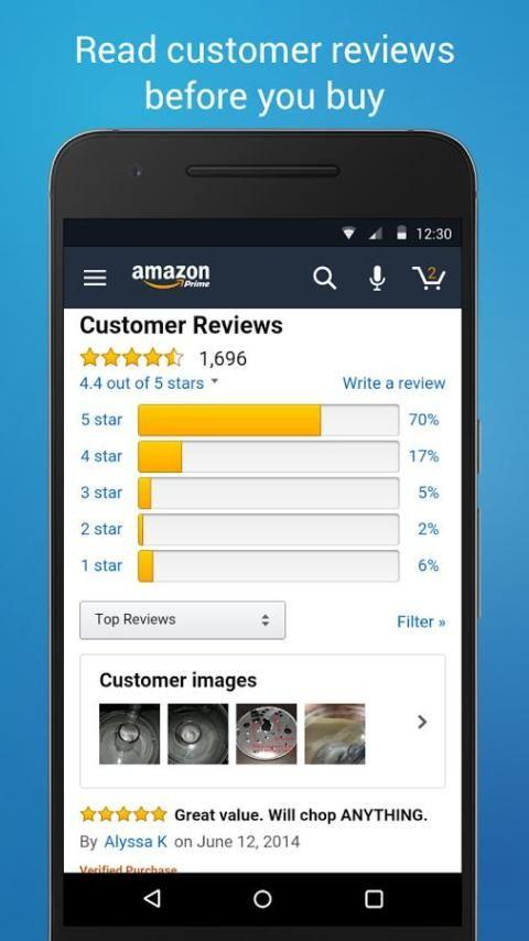 Amazon Shopping 12.9.0.100 Screen 4