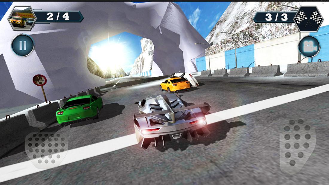 Android Car Racing Screen 6