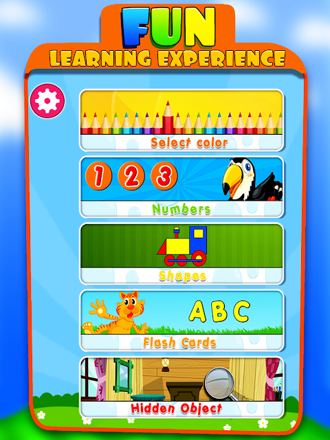 Android Kids Learning Educational Game Screen 8
