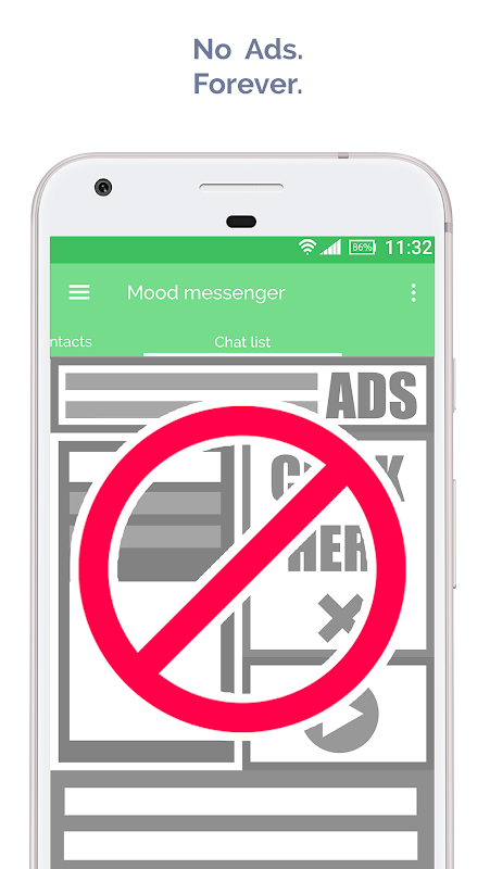 Android Mood Messenger - SMS & MMS Screen 11