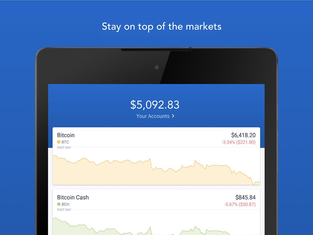 Android Bitcoin Wallet - Coinbase® Screen 5