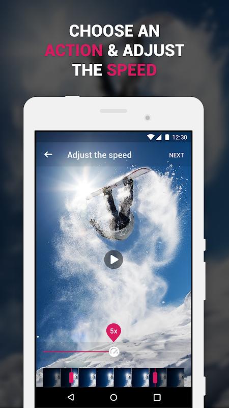 Efectum – Fast Motion & Slow , Rewind Video Editor 1.9.2 Screen 1