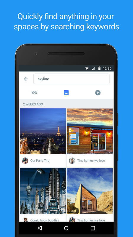 Android Spaces – Find & Do with Google Screen 3