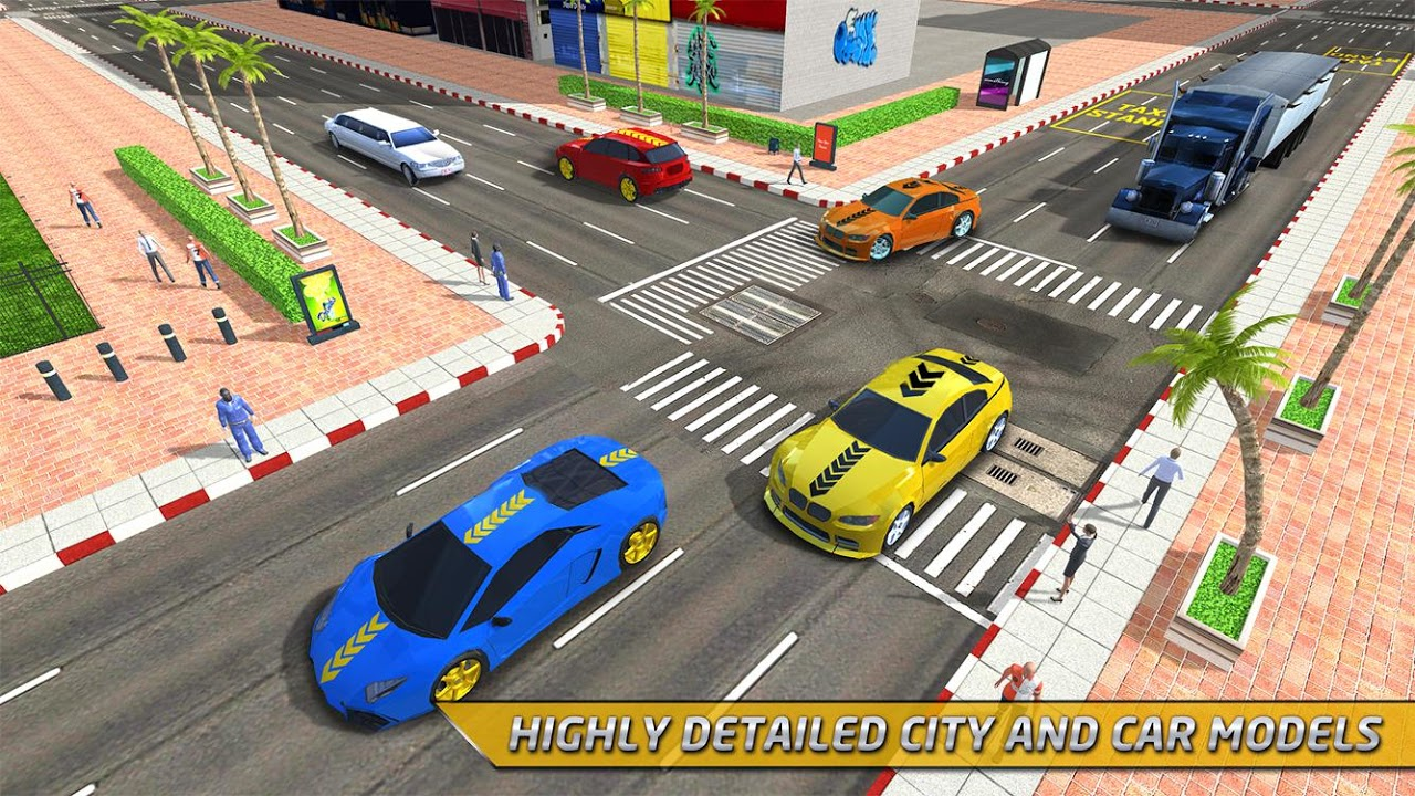 Android Taxi Driver 3D Simulator Game Screen 5