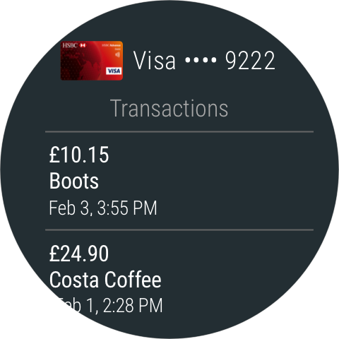 Android Android Pay Screen 2