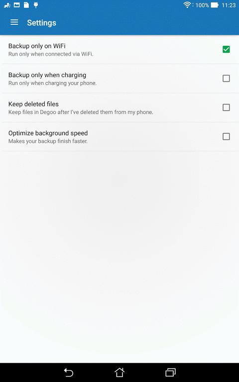 Android 100GB Free Cloud Storage Degoo Screen 10