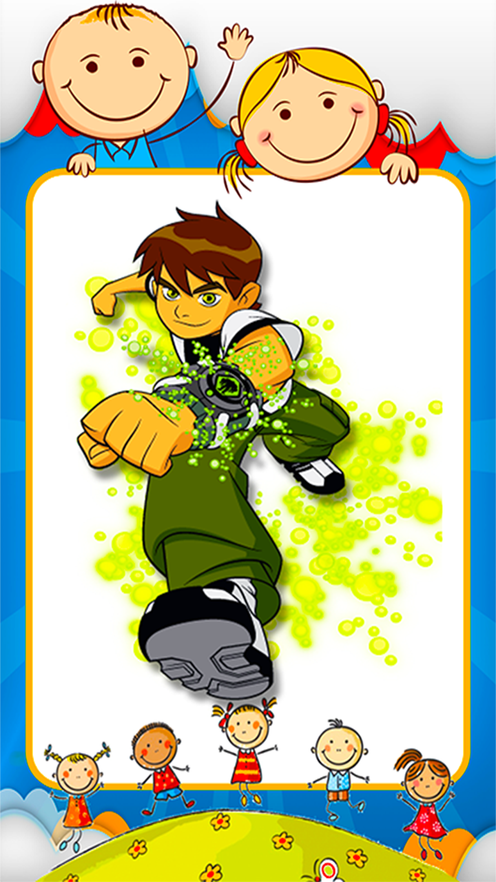 Android Coloring Ben 10 Games Screen 6