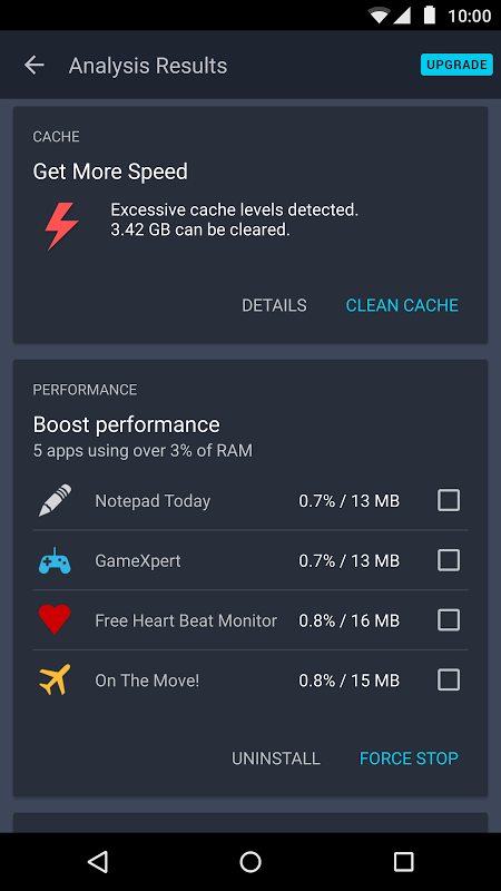Android AVG Cleaner Screen 8