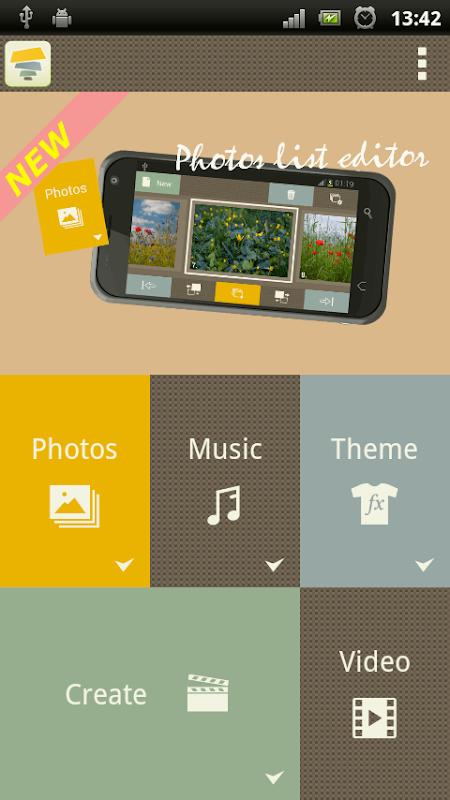 Android SlideFX Video Creator Screen 6