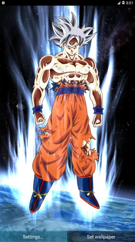 Goku Mastered Ultra Instinct Live Wallpaper 3d Apks