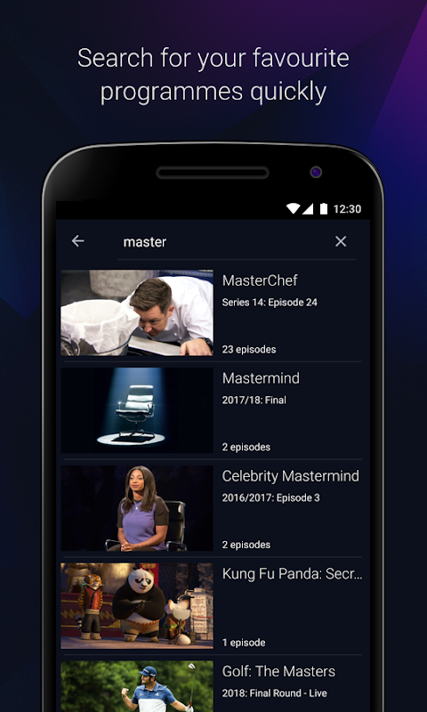 Android BBC iPlayer Screen 6