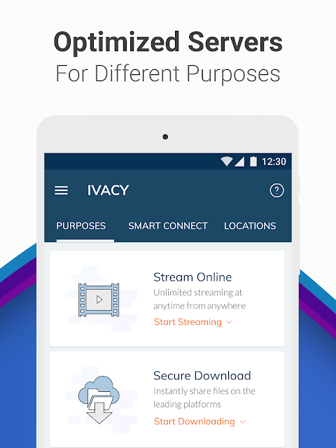 Android Ivacy VPN - Best Fast VPN Screen 12