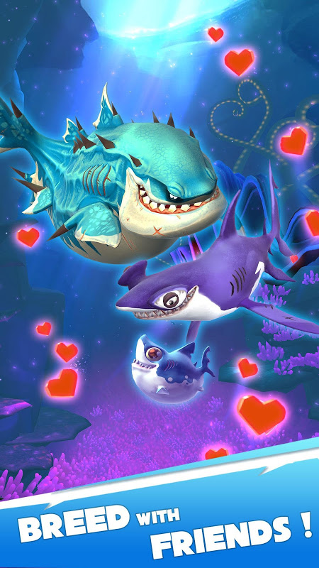 Android Hungry Shark Heroes Screen 3