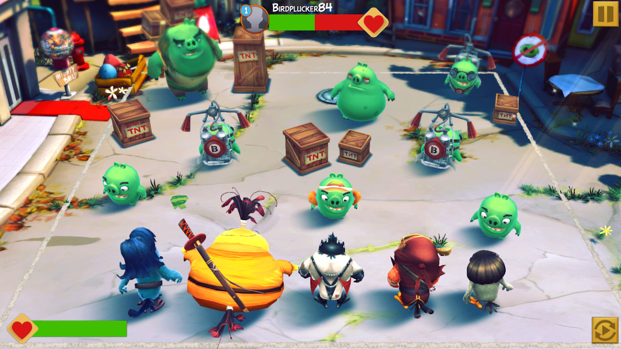 Android Angry Birds Evolution Screen 5