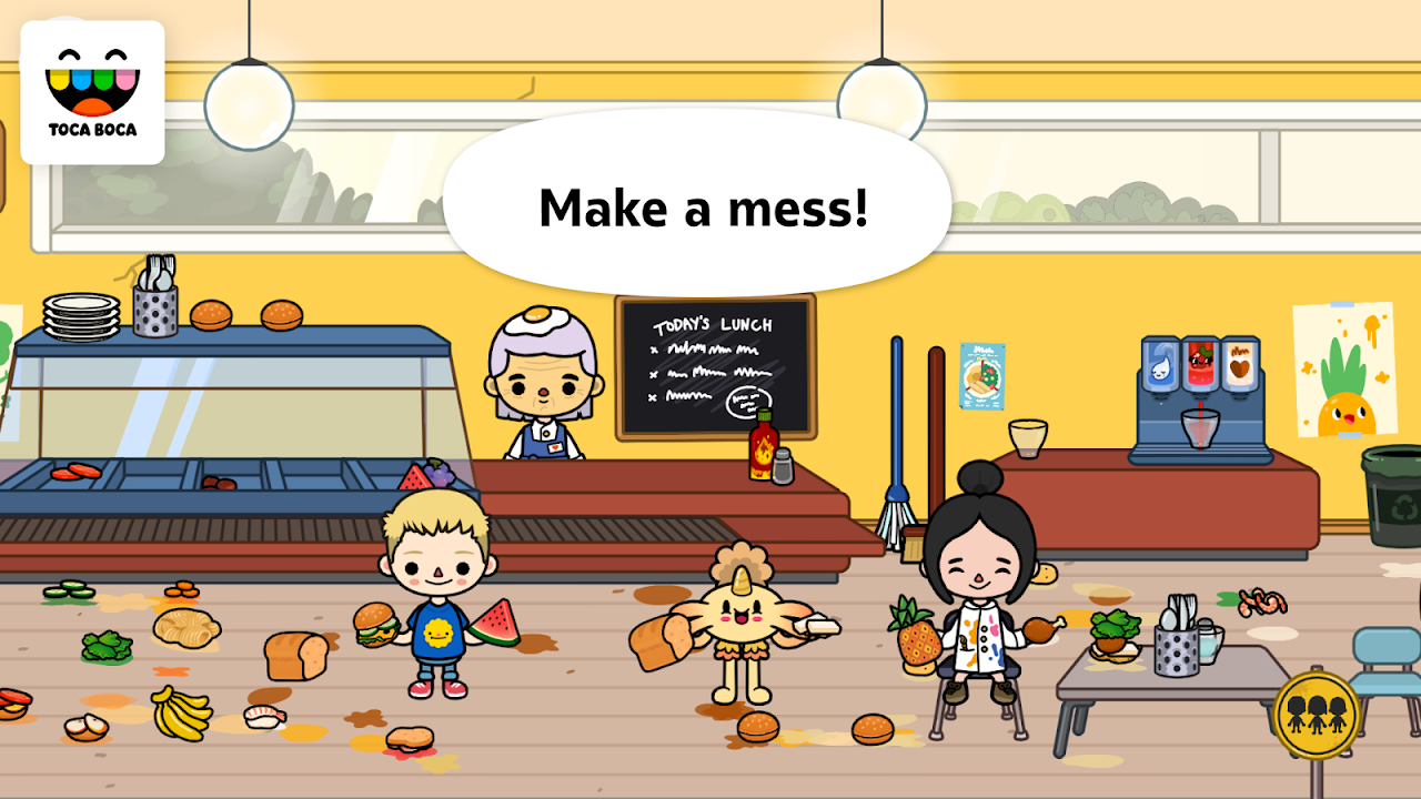 Toca Life: School 1.4-play Screen 3