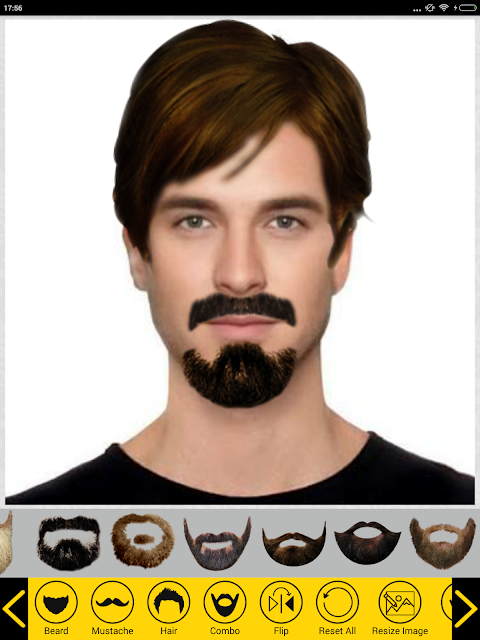 Add Hair Beard Mustache Styles 1.7 Screen 12