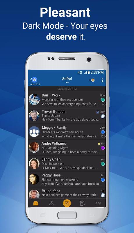 Blue Mail - Email & Calendar App - Mailbox 1.9.5.28 Screen 7