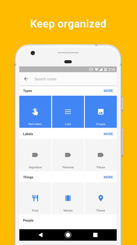 Google Keep - notes and lists 4.1.051.04.70 Screen 7