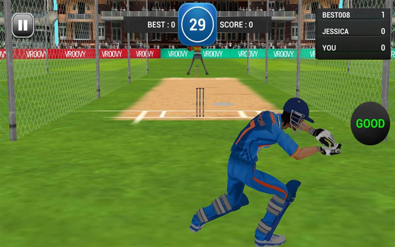 Android MS Dhoni: The Official Cricket Game Screen 2