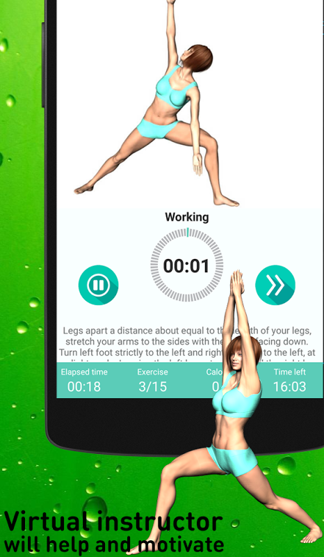 Android Yoga for super weight loss Screen 4