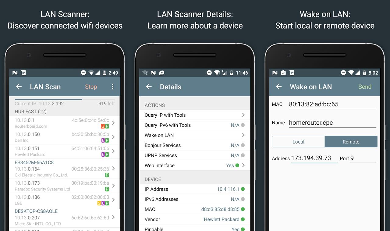 Network Analyzer Pro 2.1 Screen 7