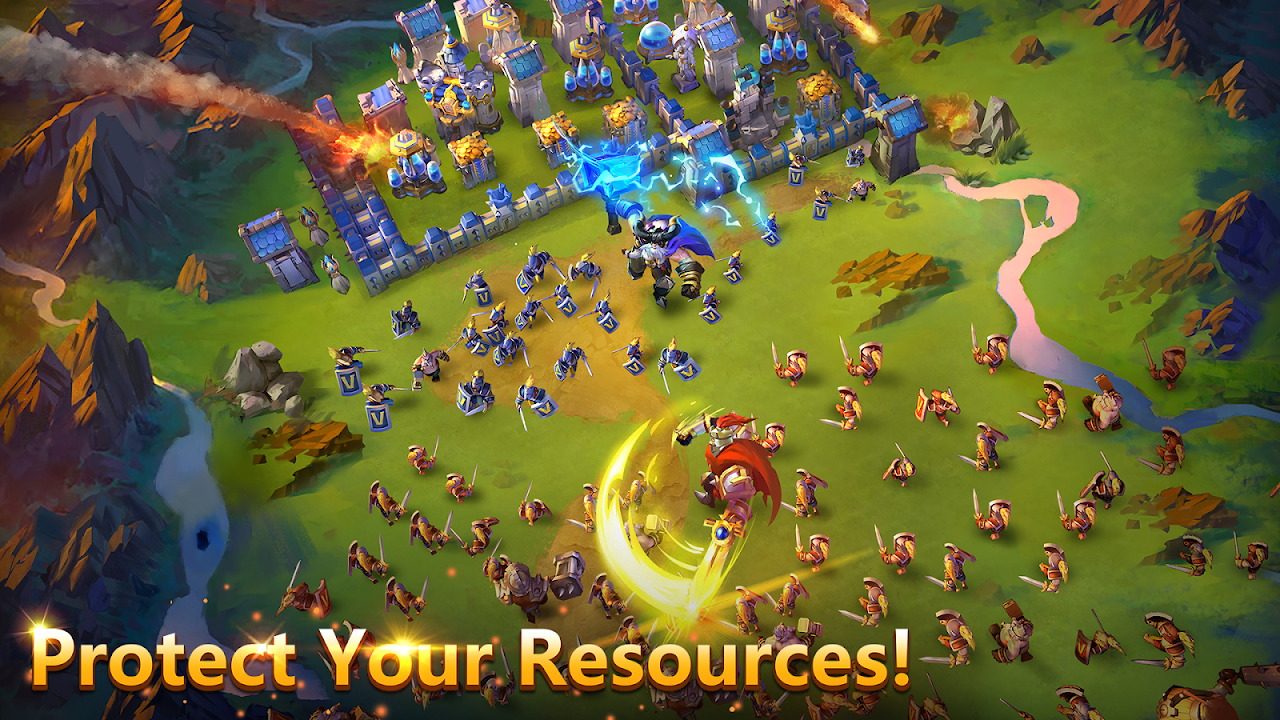 Castle Clash 1.4.1 Screen 2