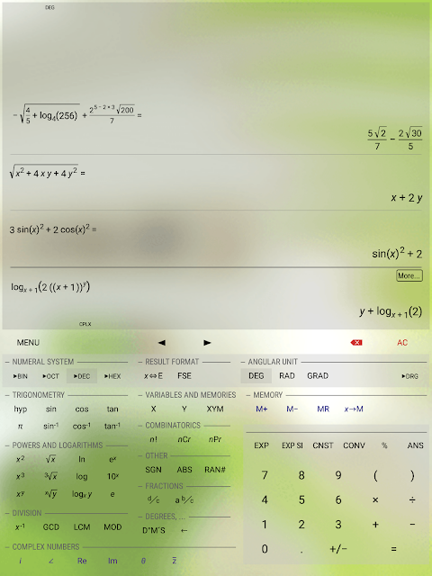 Android HiPER Calc Pro Screen 12