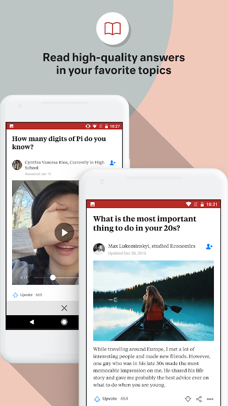 Quora 2.7.15 Screen 1