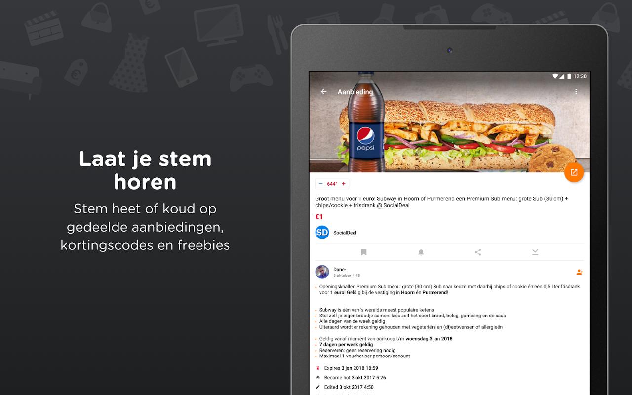 Android Pepper.com: De heetste deals Screen 6