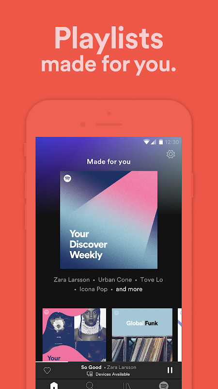 Spotify: Listen To New Music, Podcasts, And Songs 8.5.28.562 Screen 8