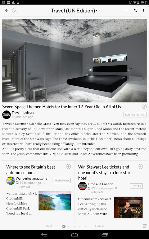 Android Flipboard: News For Any Topic Screen 12