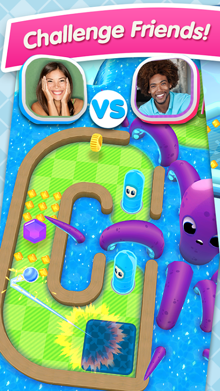 Android Mini Golf MatchUp™ Screen 10