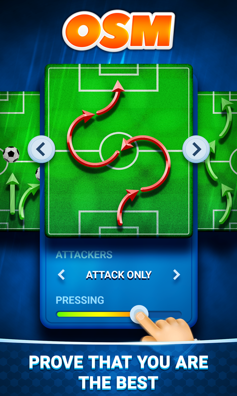 Android Online Soccer Manager (OSM) Screen 1